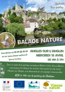 Balade nature @ Angles-sur-l'Anglin | Angles-sur-l'Anglin | Nouvelle-Aquitaine | France
