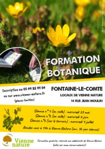 Formation botanique (séance 3) @ Vienne Nature, Fontaine-le-Comte | Fontaine-le-Comte | Nouvelle-Aquitaine | France