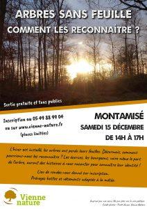 Arbres sans feuille, comment les reconnaître ? @ Montamisé | Montamisé | Nouvelle-Aquitaine | France