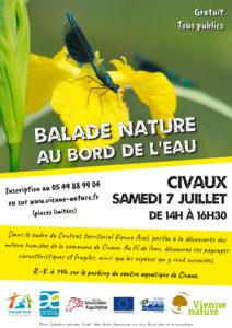 Balade nature au bord de l'eau @ Civaux | Civaux | Nouvelle-Aquitaine | France