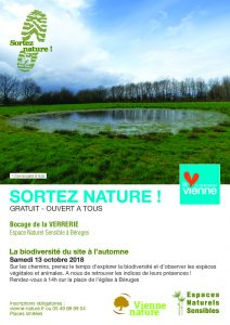 La biodiversité de la Verrerie à l'automne @ Béruges