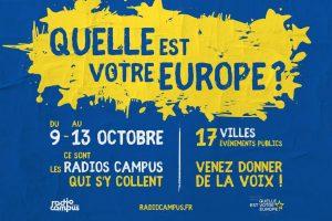 """Réunion publique """"Quelle est votre Europe ?"""" @ CRIJ, Poitiers"""