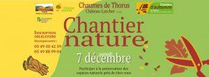Chantier nature sur les Chaumes de Thorus @ Chaumes de Thorus, Château-Larcher