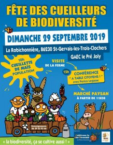 Fête des Cueilleurs de biodiversité @ Ferme du Pré Joly