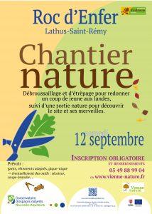 ANNULÉ - Chantier d'automne et balade nature au Roc d'Enfer