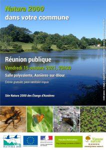 Réunion Natura 2000 à Asnières-sur-Blour